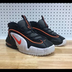 Nike Air Max Penny Le (GS) White Orange Shoes